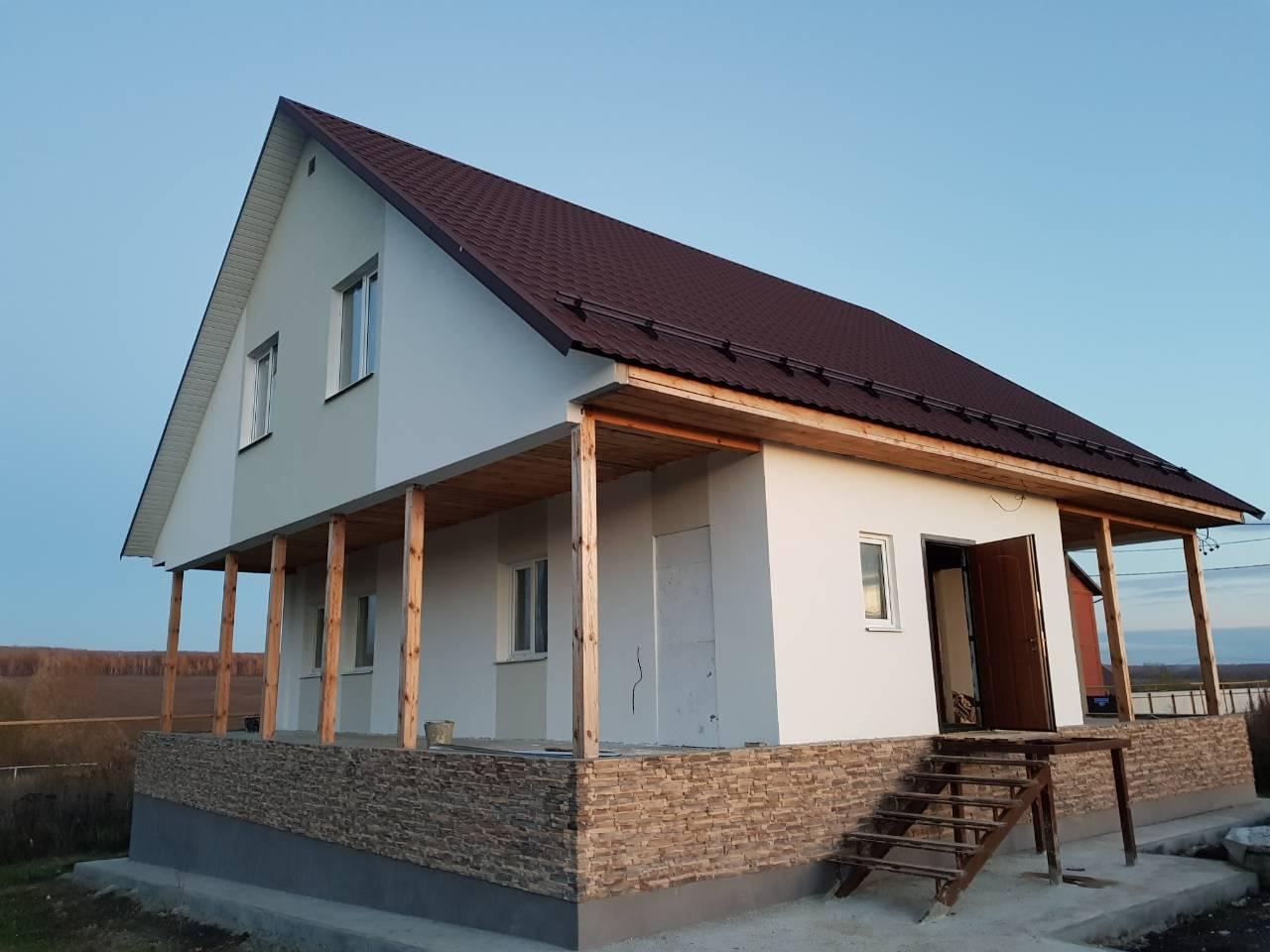 Жилой дом в селе Малая Валяевка