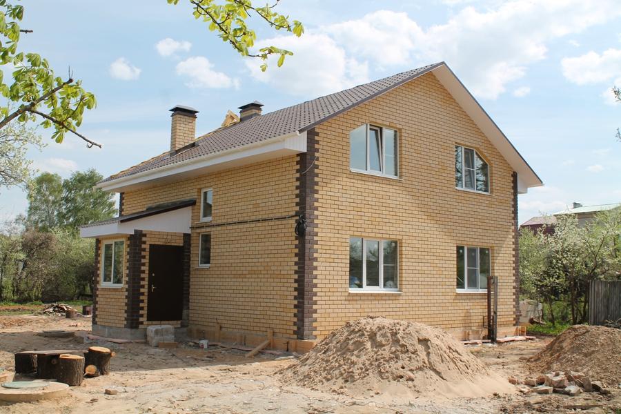 стоимость строительства кирпичного дома