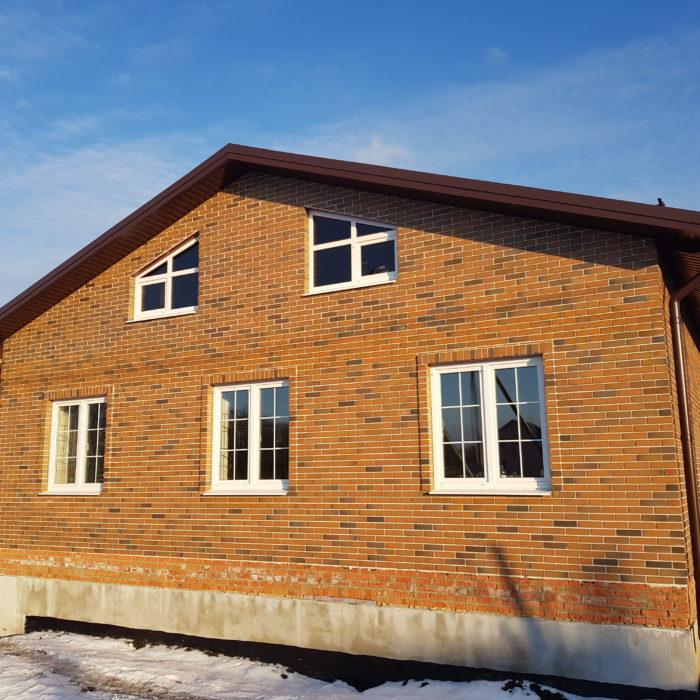 Окончание этапа строительства дома под ключ (Пенза, п. Солнечный)