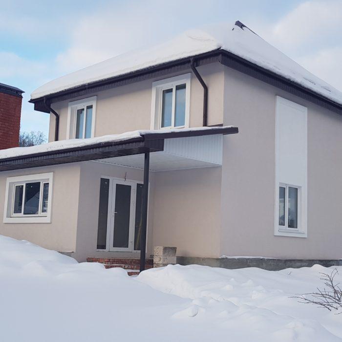 Построен под ключ и сдан жилой дом  (СНТ Черемушки, Пенза)