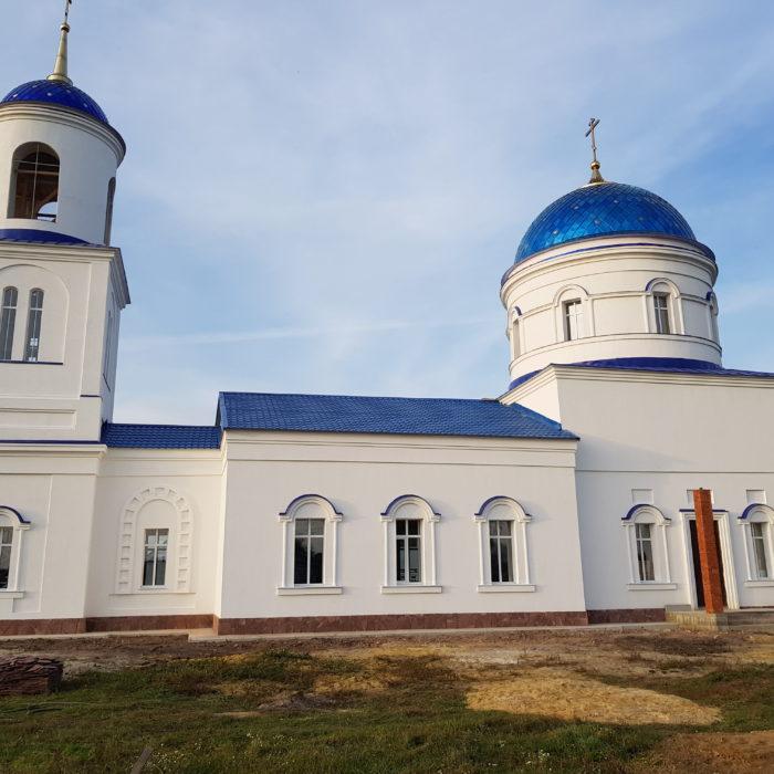Работы по реставрации церкви