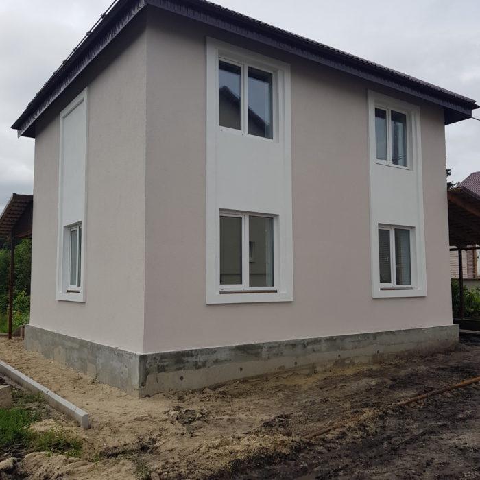Строительство дачного дома под ключ в СНТ Лесное (Пенза)