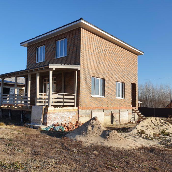 Завершено строительство частного дома «под ключ» в Ленинском Лесхозе в Пензе.