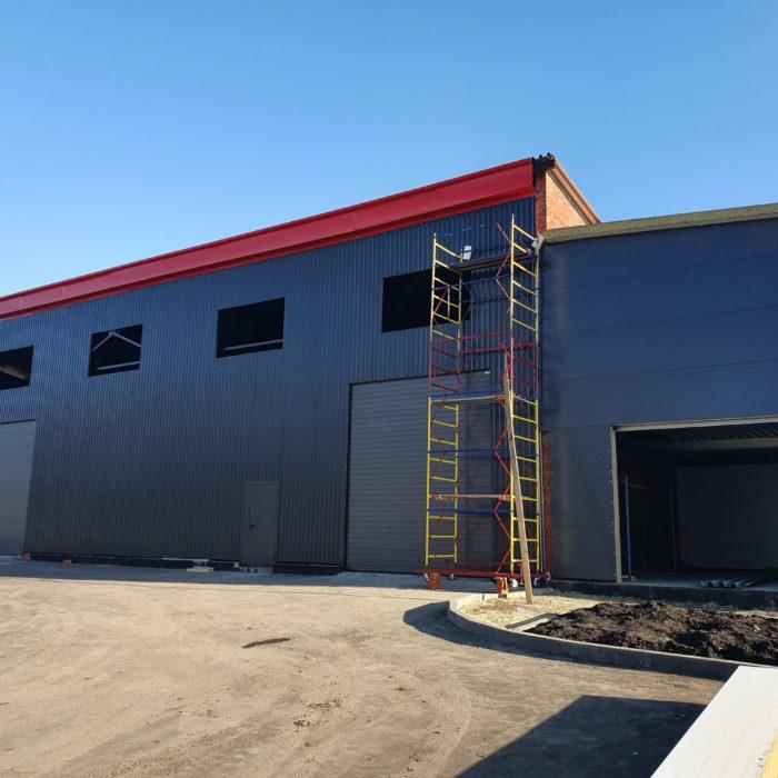 Построено коммерческое помещение для продажи строительных материалов в Пензе