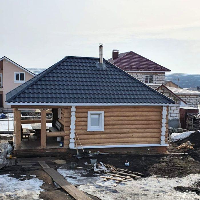 Закончено строительство бани в Пензе