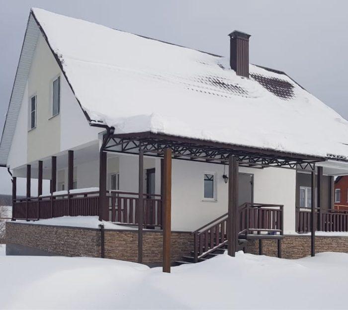 Строительство дома в селе Богословка (Пенза)