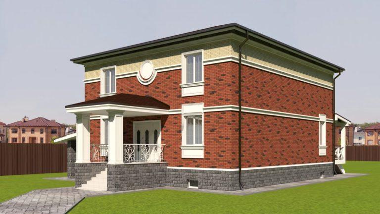 Проект дома в поселке Дубрава (Пенза)